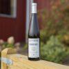 A bottle of Moonrise White wine